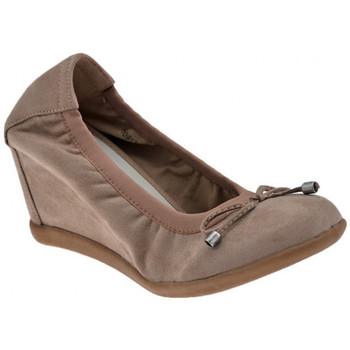 Schuhe Damen Ballerinas F. Milano Elastische Rand Zeppato ballet ballerinas