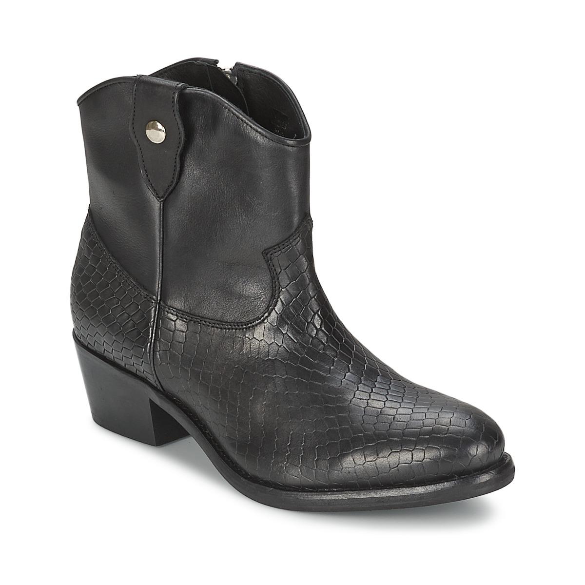 Koah ESTELLE BIS Schwarz - Kostenloser Versand bei Spartoode ! - Schuhe Boots Damen 99,50 €
