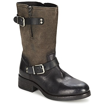 Schuhe Damen Klassische Stiefel Koah JUNE Schwarz
