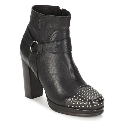 Koah BESSE Schwarz  Schuhe Ankle Boots Damen 83,60