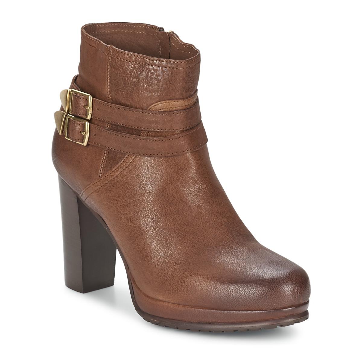 Koah BONNIE Cognac - Kostenloser Versand bei Spartoode ! - Schuhe Ankle Boots Damen 79,60 €
