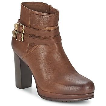 Schuhe Damen Ankle Boots Koah BONNIE Cognac