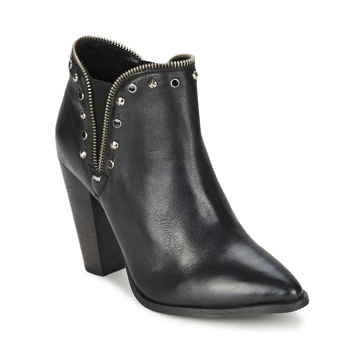 Koah YETTA Schwarz - Kostenloser Versand bei Spartoode ! - Schuhe Ankle Boots Damen 99,50 €