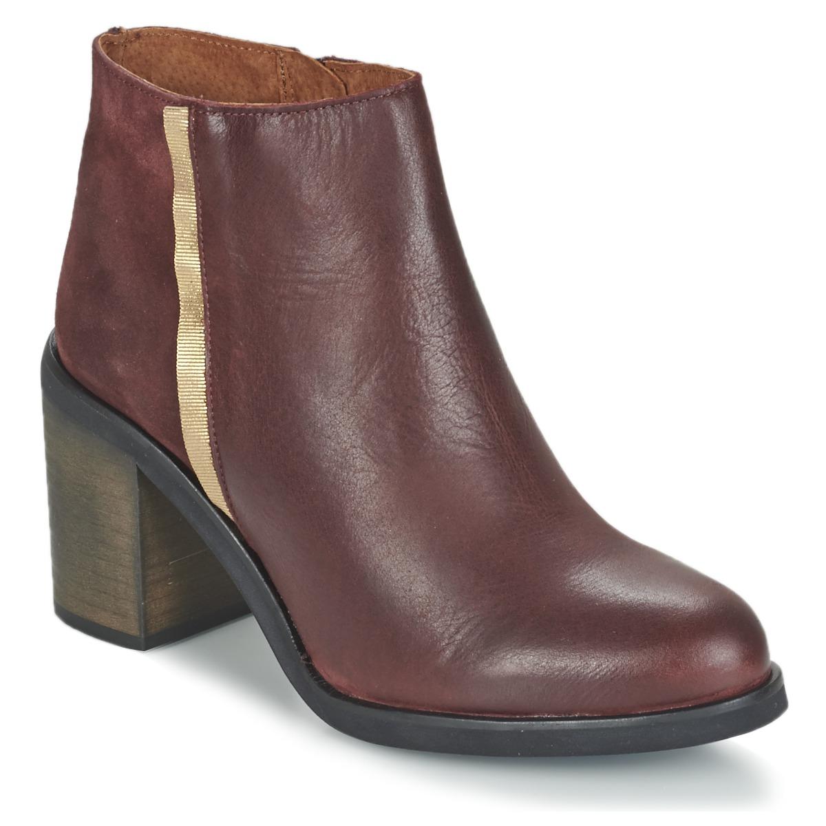 Casual Attitude FELICITA Rot - Kostenloser Versand bei Spartoode ! - Schuhe Low Boots Damen 47,99 €