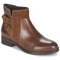 Schuhe Damen Boots Casual Attitude FERDAWA Camel