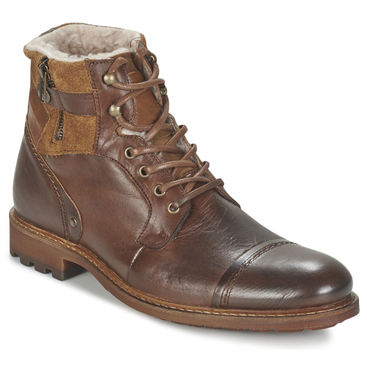 Casual Attitude FIRDAOUS Braun - Kostenloser Versand bei Spartoode ! - Schuhe Boots Herren 71,99 €