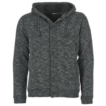 Kleidung Herren Sweatshirts Le Temps des Cerises GORDON Schwarz / Grau