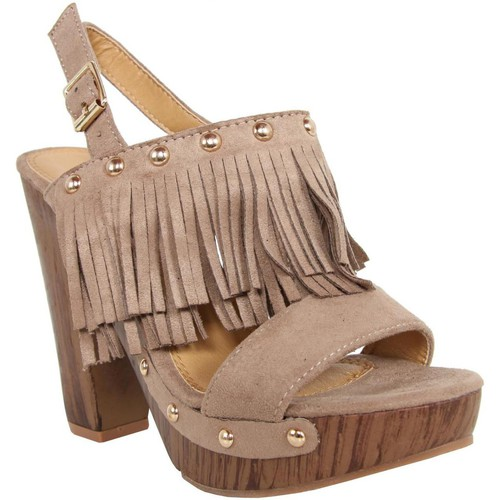 Schuhe Damen Sandalen / Sandaletten Colires C6068 BEIGE Beige