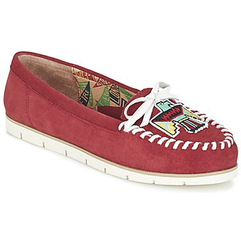 Schuhe Damen Slipper Miss L'Fire YHUNDERBIRD Rot
