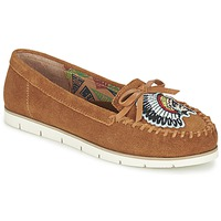 Schuhe Damen Slipper Miss L'Fire CHIEFTAIN Camel