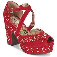 Schuhe Damen Sandalen / Sandaletten Miss L'Fire SELINA Rot