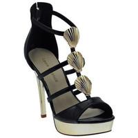 Schuhe Damen Sandalen / Sandaletten Laura Biagiotti Sandalo Gioiello Plateau Zip sandale