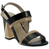 Schuhe Damen Sandalen / Sandaletten Laura Biagiotti SandaloTaccoLargoDoppiaFasciasandale