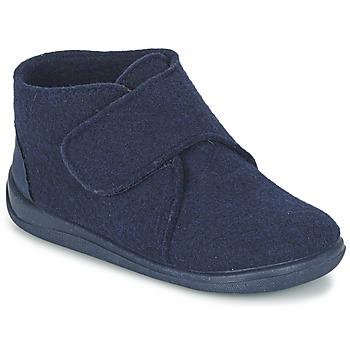 Schuhe Kinder Hausschuhe Citrouille et Compagnie FELINDRA Blau