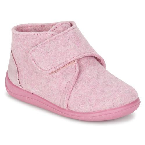 Schuhe Mädchen Hausschuhe Citrouille et Compagnie FELINDRA Rose