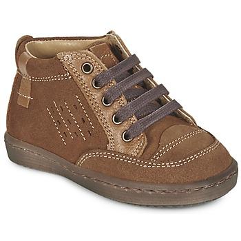 Schuhe Jungen Boots Citrouille et Compagnie FIMOULA Braun