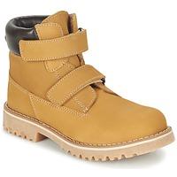 Schuhe Kinder Boots Citrouille et Compagnie FIKOURAL Beige