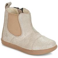 Schuhe Mädchen Boots Citrouille et Compagnie FEPOL Silbern