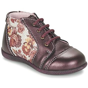 Schuhe Mädchen Boots Citrouille et Compagnie FRICOL Violett