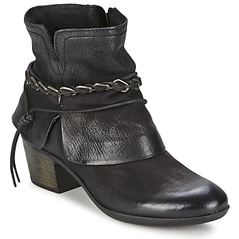 Schuhe Damen Low Boots Dream in Green BAKKAR Schwarz