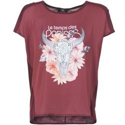 Kleidung Damen T-Shirts Le Temps des Cerises CRANEFLO Bordeaux