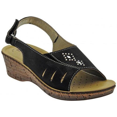 Inblu Sandalo classico cinturino zeppa wedge