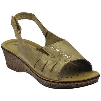 Schuhe Damen Sandalen / Sandaletten Inblu Sandalo classico cinturino zeppa wedge