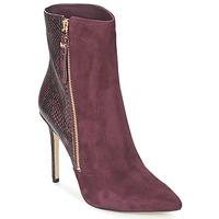 Schuhe Damen Ankle Boots MICHAEL Michael Kors DAWSON BOOTIE Bordeaux
