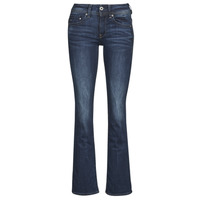 Kleidung Damen Bootcut Jeans G-Star Raw MIDGE SADDLE MID BOOTLEG Blau