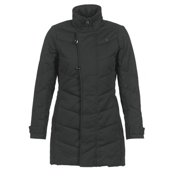 Kleidung Damen Parkas G-Star Raw MINOR CLASSIC QLT COAT Schwarz