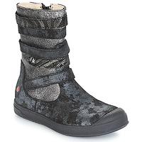 Schuhe Mädchen Klassische Stiefel GBB NOURIA Schwarz