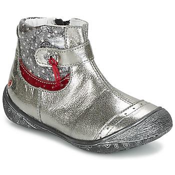 Schuhe Mädchen Boots GBB NYMPHE Grau