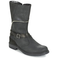 Schuhe Mädchen Klassische Stiefel Ikks FLORA Schwarz