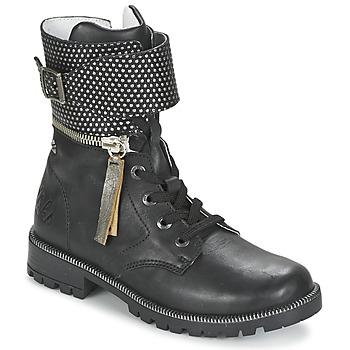 Schuhe Mädchen Boots Ikks PEGGY Schwarz