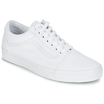 Schuhe Sneaker Low Vans OLD SKOOL Weiss