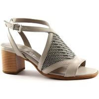 Schuhe Damen Sandalen / Sandaletten Keys KEY-5411-GR Grigio