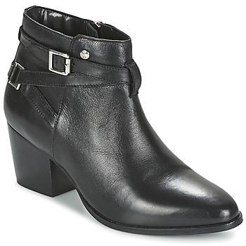 Schuhe Damen Low Boots Elle PEREIRE Schwarz