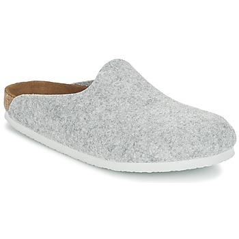 Schuhe Damen Pantoletten / Clogs Birkenstock AMSTERDAM Grau