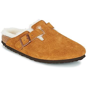 Schuhe Damen Pantoletten / Clogs Birkenstock BOSTON Braun
