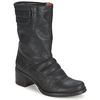 Schuhe Damen Low Boots Espace DORPIN Schwarz