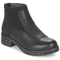 Schuhe Damen Low Boots Caterpillar ZOE Schwarz