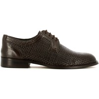 Schuhe Herren Derby-Schuhe Fontana 5701C Elegant shoes Man Brown Brown