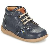 Schuhe Jungen Boots Kavat HAMMAR LACE Blau