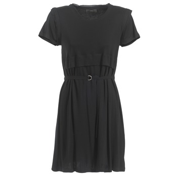 Kleidung Damen Kurze Kleider Diesel D LETO Schwarz
