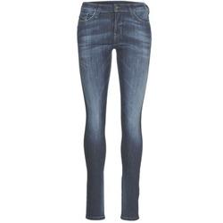Kleidung Damen Slim Fit Jeans Diesel SKINZEE Blau