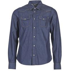 Kleidung Herren Langärmelige Hemden Diesel NEW SONORA Blau