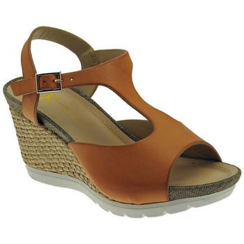 Schuhe Damen Sandalen / Sandaletten Lumberjack Sissi sandalo zeppa cinturino wedge