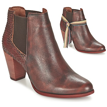 Schuhe Damen Low Boots Felmini VIANA Bordeaux