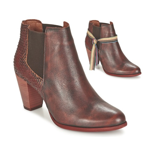 Felmini VIANA Bordeaux  Schuhe Low Boots Damen 95,92