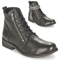Schuhe Damen Boots Felmini BEJA Schwarz